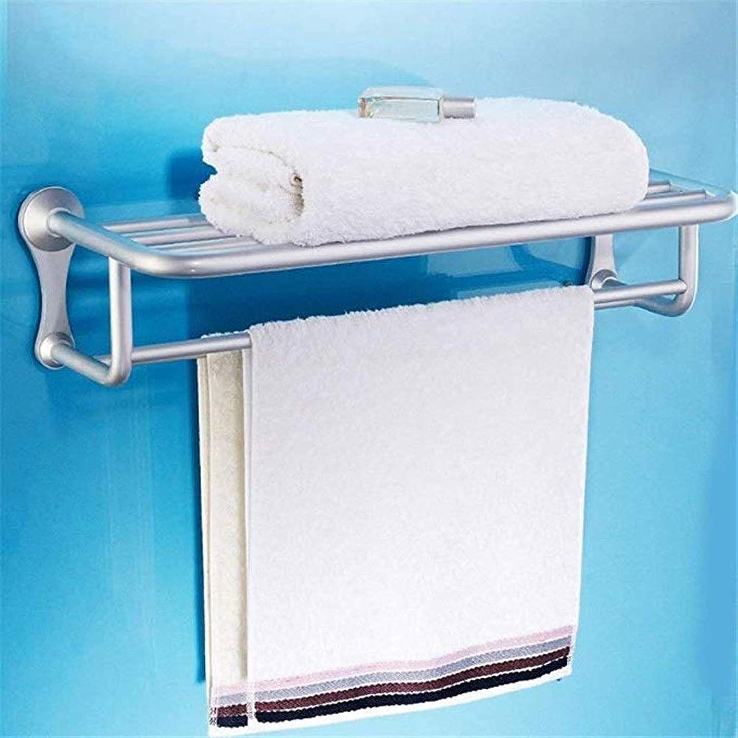 花火充実マーキングZXPzZ 壁掛け式タオル掛けスペースアルミ厚くする二重層タオル掛けバスタオル掛け