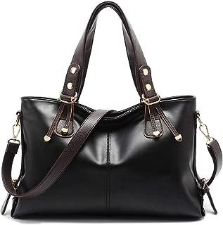 Bihuo Luxury Women's Purse and Handbags Shoulder Bag Ladies Designer Satchel Messenger Tote Bag Patent Leather Crossbody Bags