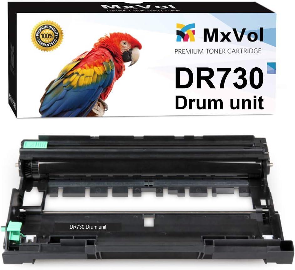 MxVol Compatible Drum Unit Replacement for Brother DR730 DR-730 Up to 12,000 Pages use for HL-L2350DW MFC-L2750DW HL-L2395DW DCP-L2550DW Printer