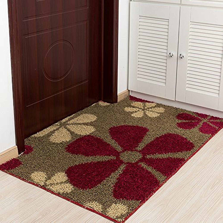 JinYiDian'Shop-Foot Pads Door Mat Living Room Bathroom Slip-Proof Mat ,80100Cm,C