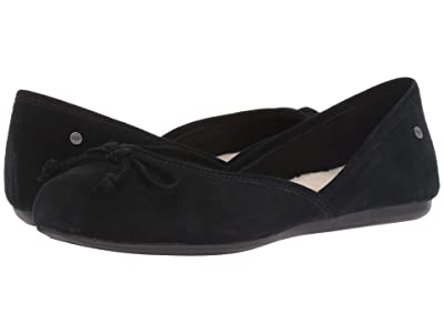 UGG Lena Flat (Black) Women