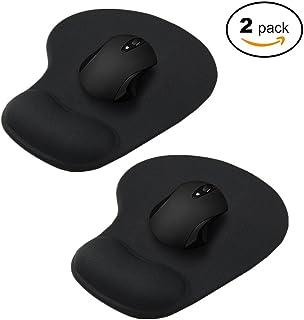 Tappetino per mouse ergonomico in memory foam AOKSUNOVA con poggiapolsi per computer e laptop