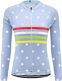 Uglyfrog Outdoor Sports Women's Slim Fit Cycling Jersey Long Sleeves Bike Bicycle MTB Shirts Spring Breathable Style