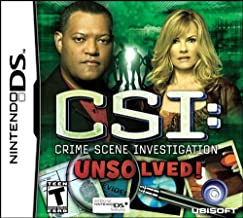 CSI: Unsolved - Nintendo DS