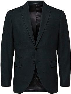 Selected Men's Slhslim-myloiver Green BLZ B Noos Blazer