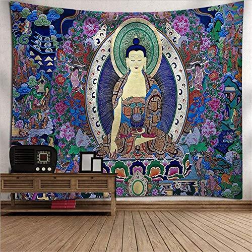 PPOU Tapiz Gran Brujería Decoración de la habitación Mandala Tapiz Decoración para Colgar en la Pared Mandala Decoración Bohemia Tapiz de tótem A11 150x200cm