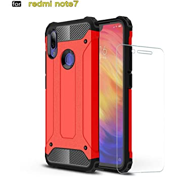DESCHE para Funda Xiaomi Redmi Note 7 Pro, Hard PC Soft TPU 2 en 1 360