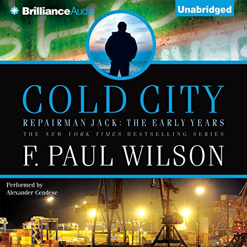 Cold City audiobook cover art