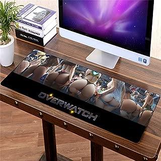 Large 80cm x 30cm gaming Mousepad Sexy Hip Office Mouse pad Korea keyboard mat for Overwatch Mei DVA Butt Widowmaker Boy Gift XL