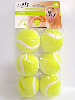 afp Interactives Dog Fetch ball Pack of 6 All For Paws
