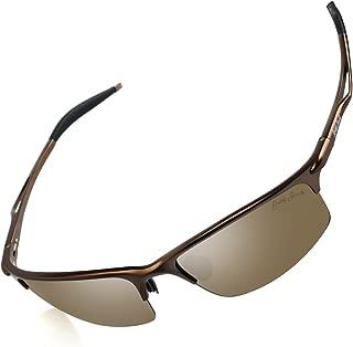 GREY JACK Sports Style Polarized Sunglasses Al-Mg Metal Frame Ultra Light for Men Women