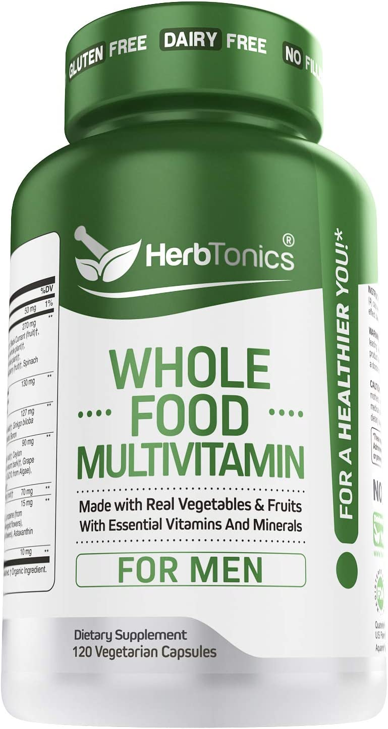 Whole Cash special price We OFFer at cheap prices Food Multivitamin for Men with Veggies Superfoods Raw - 62