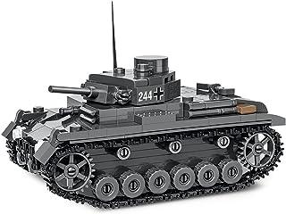 COBI Historical Collection Pz.Kpfw.III AUSF. E Tank, Gray