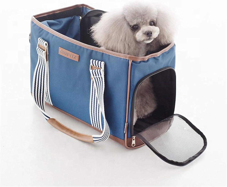 QZQWQNA Car Seat Pet Travel Carrier Bag Red bluee Green Outdoor Little Puppy Dog Animal Handbag Transport Kennel Goods