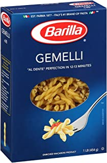 Barilla Pasta, Gemelli, 16 Ounce (Pack of 16)