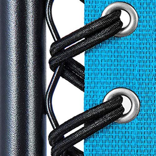 IMIKEYA 8 Piezas de Cables de Repuesto para Silla Cuerda para Tumbona Accesorios para Silla de Playa Chaise Longue Cuerda Chaise Cuerda elástica reclinable Piezas (Negro)