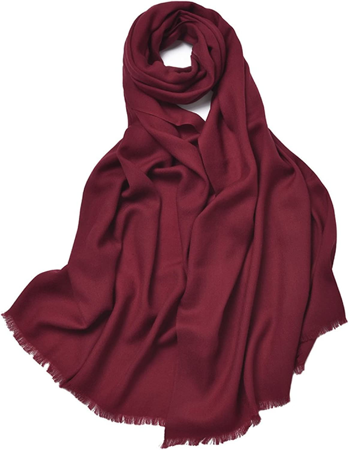 2017 Women's Autumn And Winter Long Solid color Scarf Shawl Dual The New,10OneSize