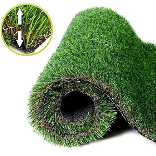 NAHI Artificial Grass Thick Fake Grass, Realistic...