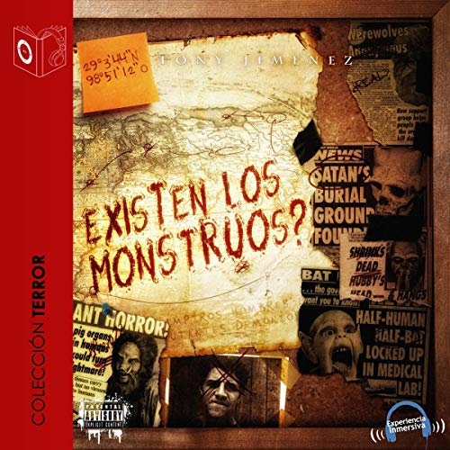 ¿Existen los monstruos? [There Are Monsters?] audiobook cover art