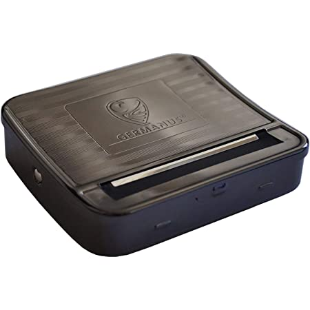 GERMANUS Cigarette Rolling Machine Premium – Máquina para liar Cigarrillos, Maquina de llenado de Tabaco