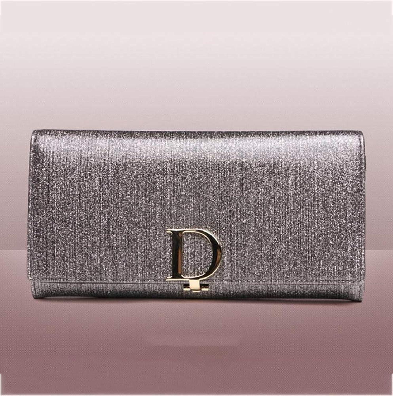 ZhiGe Portmonee Damen Frauenbrieftasche Damen Geldbörse Damen Brieftasche große Leder Reißverschluss multifunktionaler Hochleistungs-Hand Tasche Damen Portemonnaies B07KDQPZ71