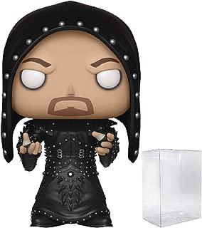 WWE: Undertaker (Hooded) Funko Pop! Vinyl Figure (Includes Compatible Pop Box Protector Case)