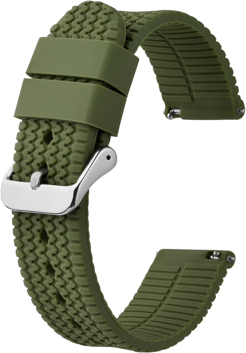 BISONSTRAP Driven Silicone Watch Discount is also underway Bands 22mm 24mm Quic 18mm 20mm Ranking TOP9