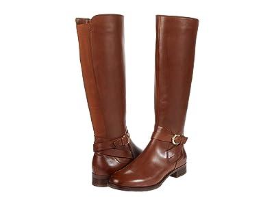 Clarks Hamble High (Dark Tan Leather) Women
