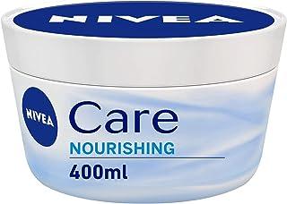 NIVEA Care Intensive Nourishing Cream Jar, 400 ml