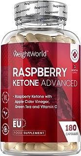 Raspberry Ketone Plus - 1200mg Ketones capsules verrijkt met Groene Thee en Garcinia Cambogia - Pure frambozen ketones - 1...