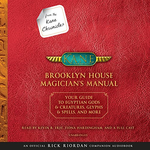 From the Kane Chronicles: Brooklyn House Magician's Manual cover art