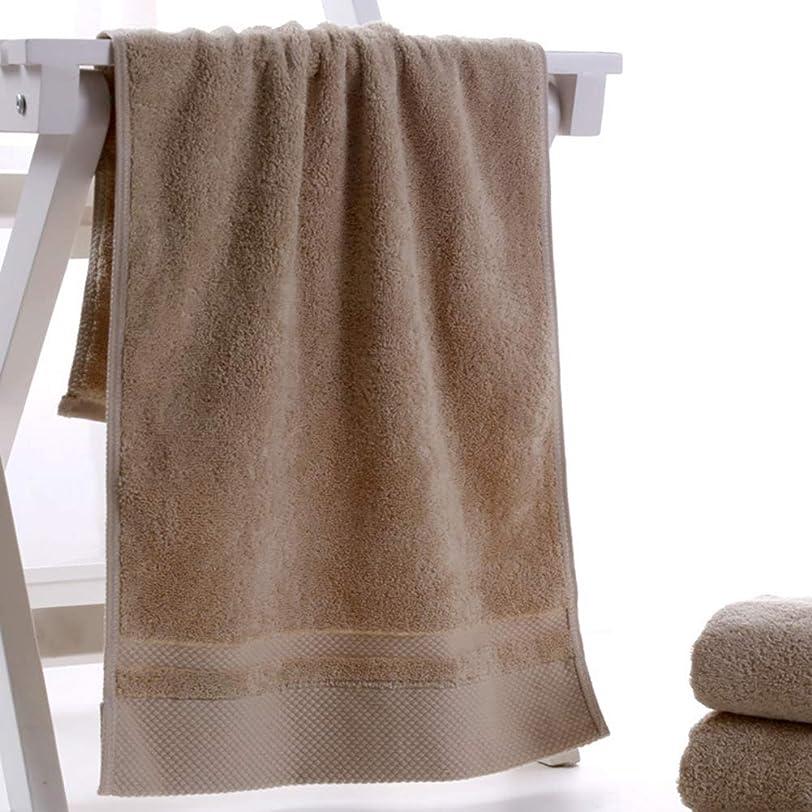 厳次へ熟達したAsakao フェイスタオル 綿100% 速乾 3枚セット 瞬間吸水 柔らか肌触り やわらかい 約75cm*34cm (ブラウン)