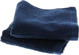 フェイスタオル 神様のタオル 高級スーピマ綿を使ったプレミアム 2枚入り ネイビー SF005