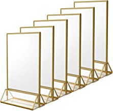 Best Small Gold Frames For Table Numbers Of 2020 Top Rated