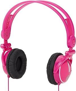 Kidz Gear - Wired Volume Limit Travel Headphones for Kids - Pink