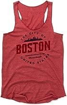 500 LEVEL Boston Women's Tank Top - Boston Massachusetts City Badge