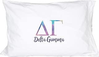 Desert Cactus Delta Gamma Sorority Water Color Pillowcase 300 Thread Count 100% Cotton dg