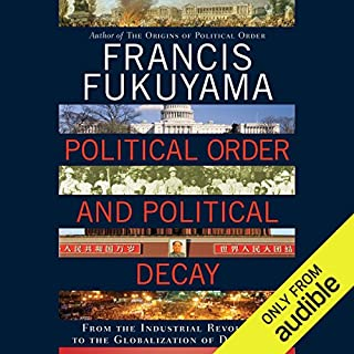 Political Order and Political Decay  cover art