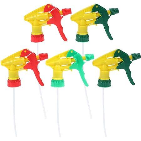 5PCS Unviersal Resistant Trigger Sprayer Spray Bottle Head Cleaner Nozzle Garden