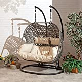 SunTime Rattan Garden Brampton Double Chair