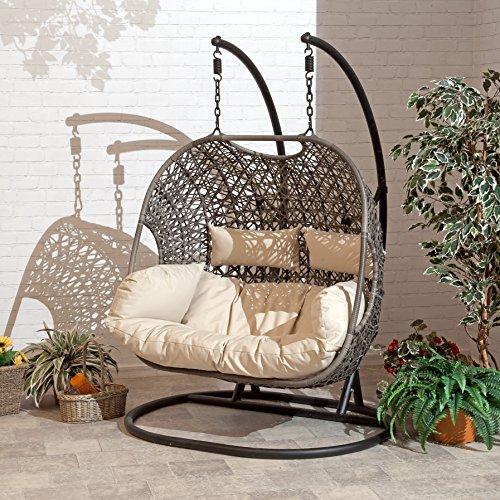 SunTime Rattan Garden Brampton Double Chair
