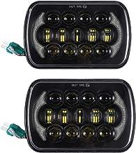 15 Abs 17.5 3.2CM Ajboy Lot de 2 Feux de Position carr/és 16 LED pour Jeep Wrangler JK TJ CJ YJ