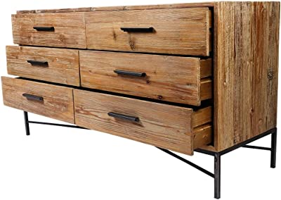 Modway Origin Three-Drawer Chest or Stand in Walnut White MOD-6074-WAL-WHI