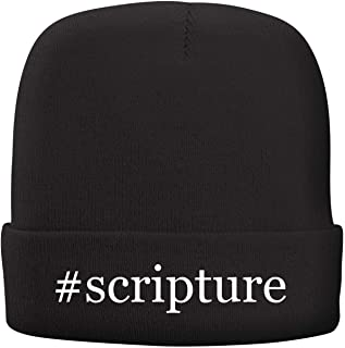 BH Cool Designs #Scripture - Adult Hashtag Comfortable Fleece Lined Beanie