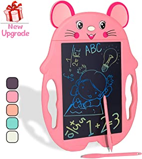 HahaGift Girl Toys for 7 6 5 4 3 Year Old Girl Gifts, Colorful LCD Doodle Drawing Board, Little Girl Educational Birthday Gifts for 3 4 5 6 7 Year Old Girl Toys, Girl Toys Age 3-7, Girl Gifts Age 3-7