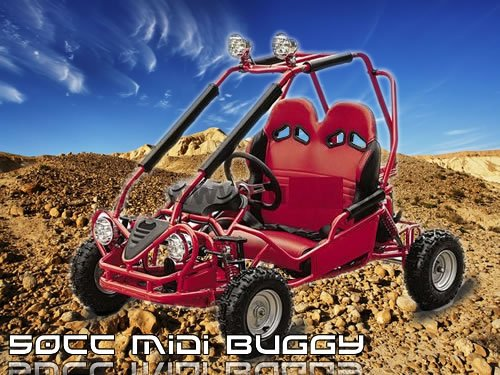 Mini Buggy 50cc Go Kart Gokart Quad Atv