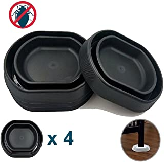 Niapoc Trampa para chinches (4 Unidades), Color Negro
