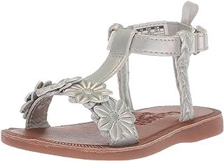 e5ac8b73ff91b4 OshKosh B Gosh Kids Marian Girl s Flower T-Strap Sandal