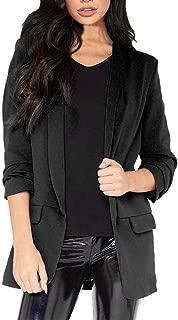 for Coat.AIMTOPPY Fashion Women OL Style Long Sleeve Blazer Elegant Slim Suit Casual Coat