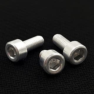 Baoblaze 10pcs M6x20mm Aluminum Hex Socket Cap Screws Head Key Bolt Blue